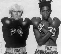 Andy Warhal and Jean Michel Basquiat